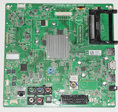 Mainboard 715G6165-M01-000-005K телевизора Philips