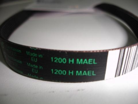 Ремень 1200 H8 для стиральной машины Candy (Канди) 46000003 ОРИГИНАЛ, см. BLH304UN