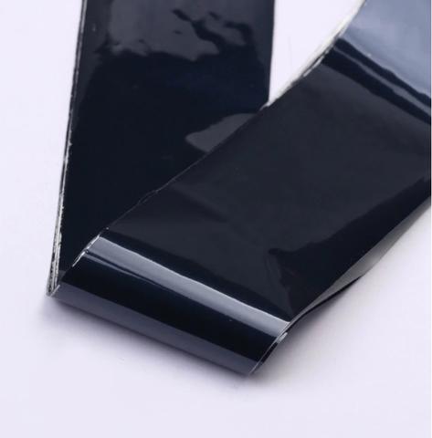 Фольга для дизайна ногтей (черная)