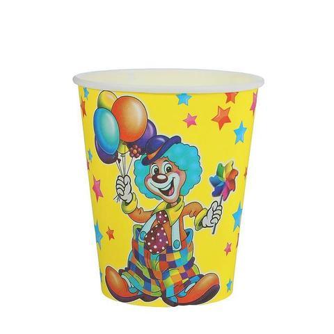 Стакан бумажный Клоун