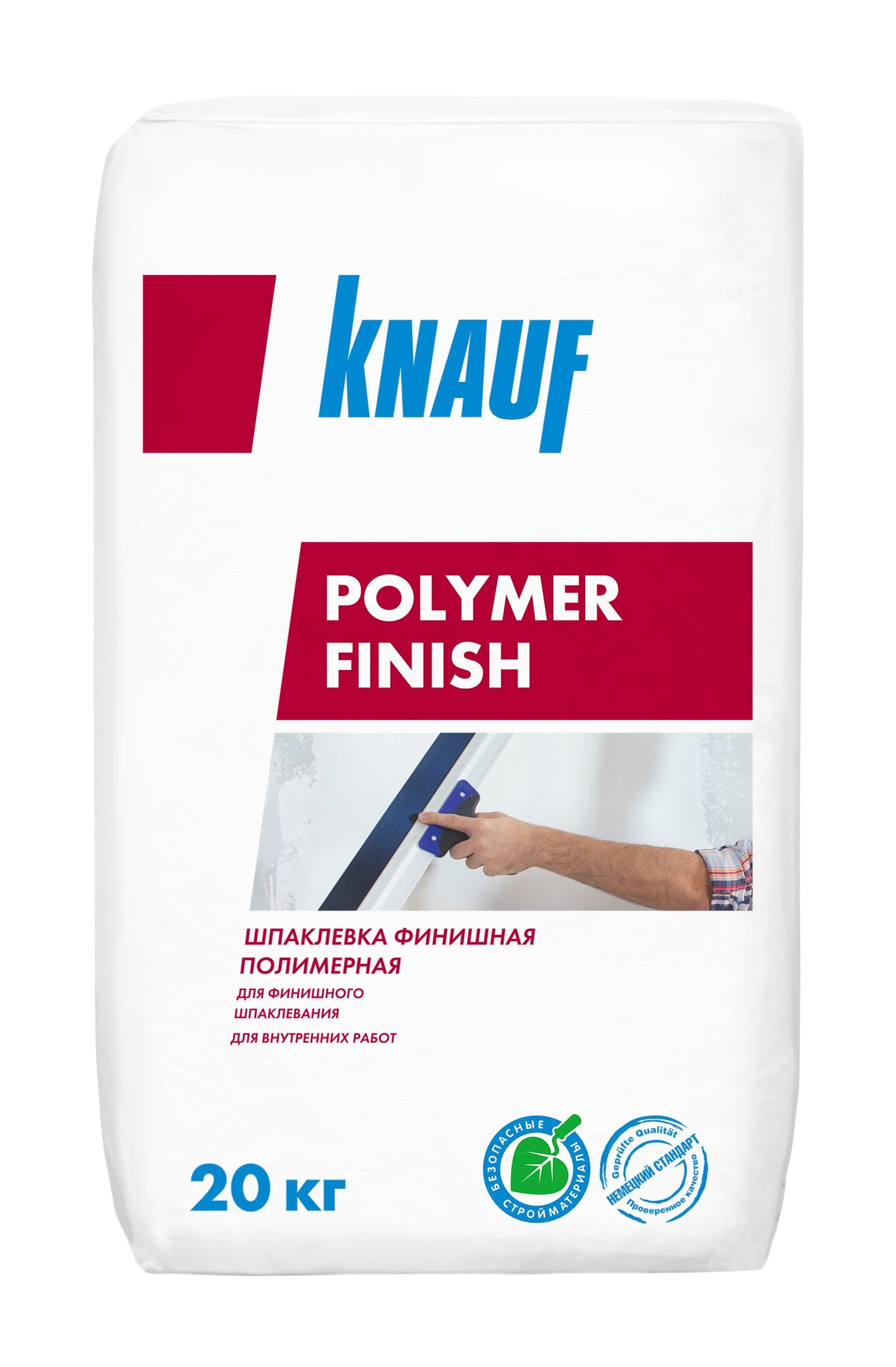 Шпаклевки Шпаклёвка Knauf Полимер Финиш полимерно-цементная, 20 кг ee0c56b049a34bb095be7ed6938a9952.jpg