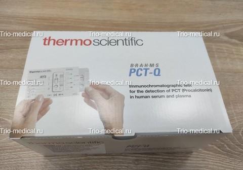 106.025 Экспресс-тест иммунохроматографический BRAHMS PCT -Q для полуколичественного определения прокальцитонина (ПКТ) в сыворотке и плазме крови человека №25 БРАМС ГмбХ, Германия/Brahms GmbH, Germany
