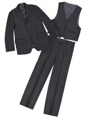 D155 костюм для мальчиков серый