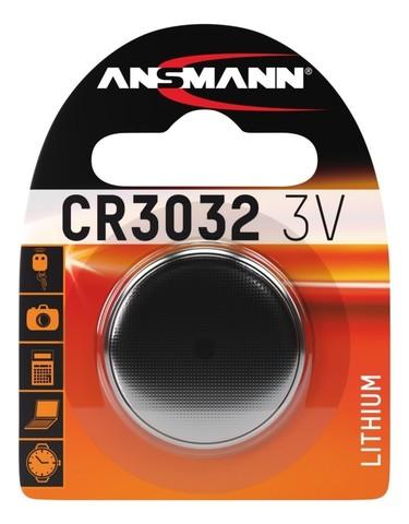Батарейка CR 3032 ANSMANN 3V (Premium)
