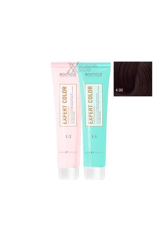 Expert Color Hair Color Cream 4/00 шатен для седины 100 мл