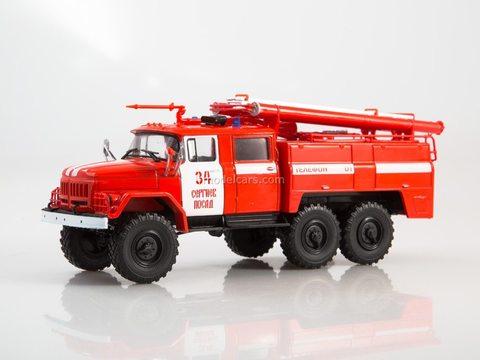 ZIL-131 AC-40 (131) -137 fire truck 1:43 Legendary trucks USSR #1