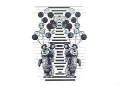 80s dissociative interference #1