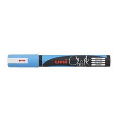 Маркер меловой Uni Chalk голубой (толщина линии 2.5 мм)