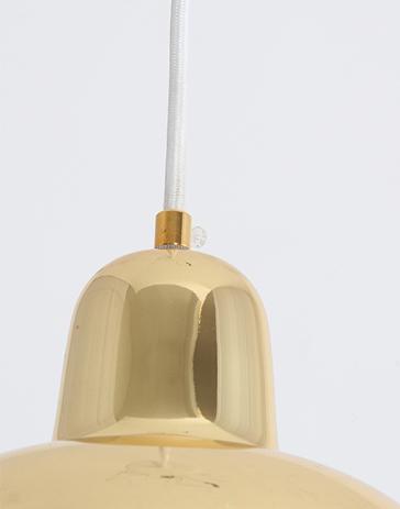 Подвесной светильник A330S Golden Bell by Artek (золотой)