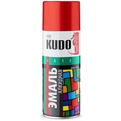 Эмаль KUDO красная 520 мл