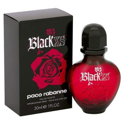 Paco Rabanne: XS Black Woman женская туалетная вода edt, 80мл