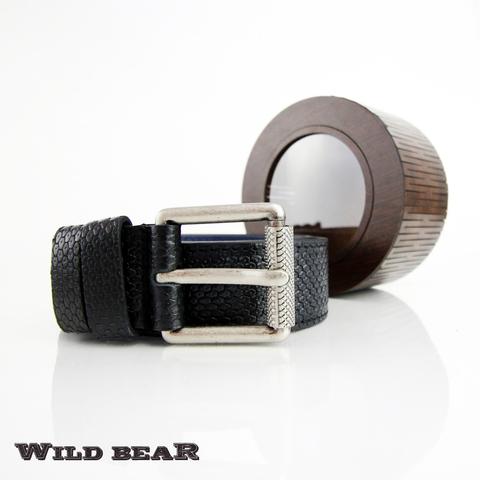 Ремень WILD BEAR RM-009f Black Premium