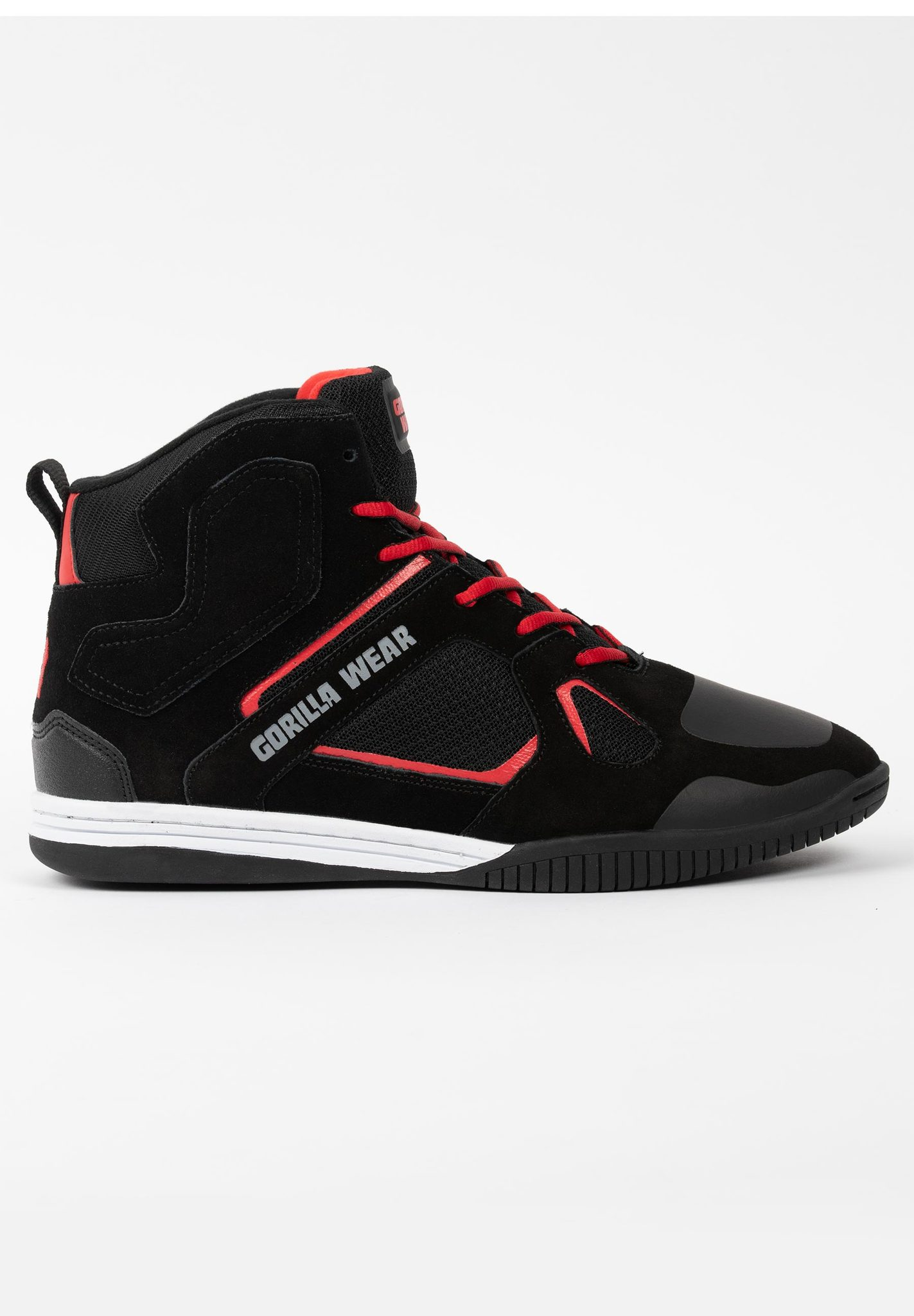 Кроссовки Troy High Tops (Red&Black)