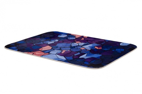 Плюшевый коврик 120х160 см (Cube)