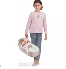 DeCuevas Коляска-трансформер для кукол 3 в 1 серия Диди, 75см (81643)