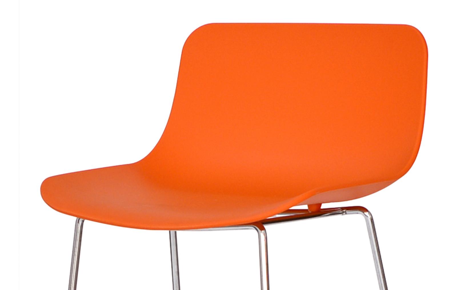 Стул барный Claudio Bellini CT-398 оранжевый