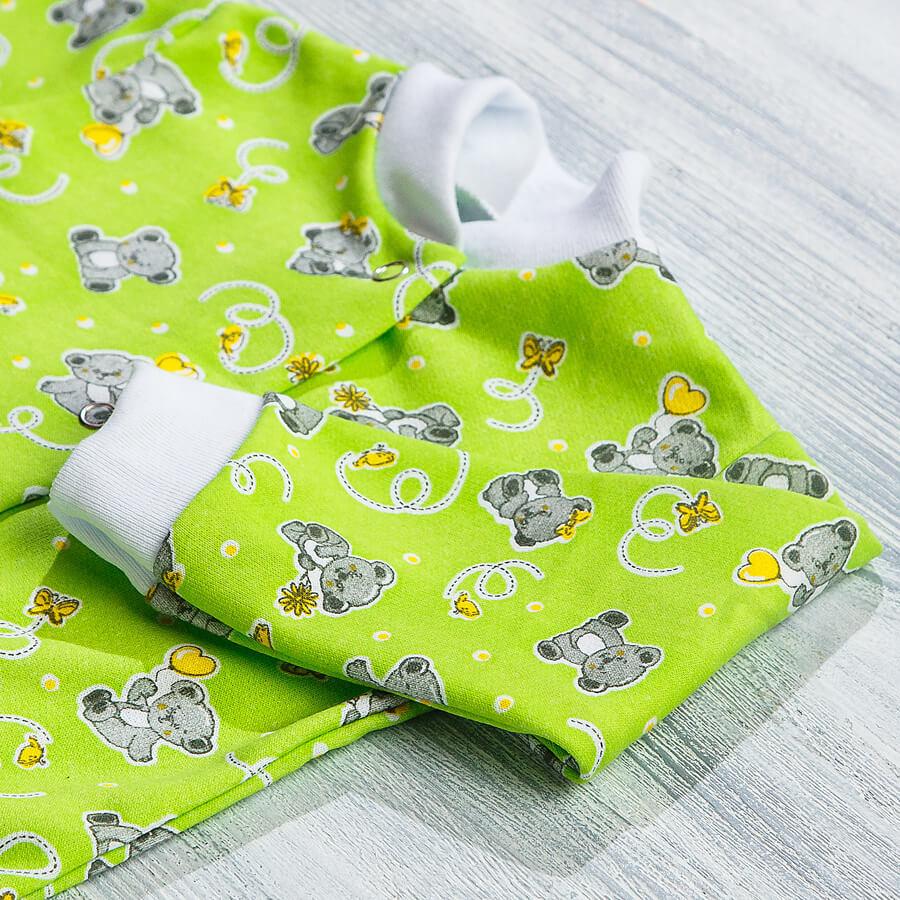 Кофточка с начесом для новорожденных