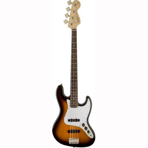 FENDER SQUIER AFFINITY JAZZ BASS LRL BROWN SUNBURST Бас-гитара