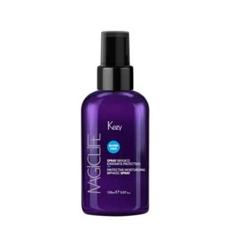 Spray bifasico idratante protettivo Спрей двухфазный для увлажнения и защиты волос 150 мл - KEZY