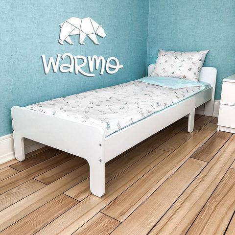 Дитяче ліжко трансформер Warmo™ INCH