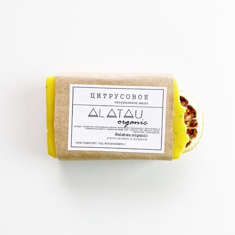 Мыло Цитрусовое (Alatau Organic)
