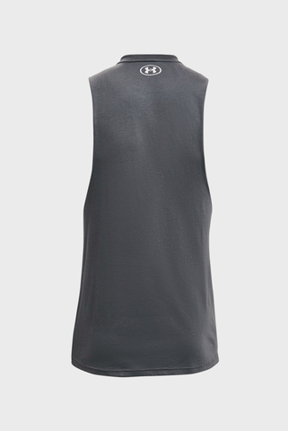 Мужская серая майка UA Project Rock Outwork Tank Under Armour
