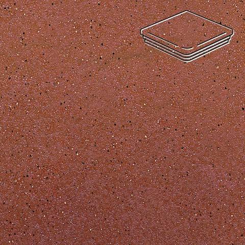 Ceramika Paradyz - Taurus Rosa, 330x330x11, артикул 5278 - Ступень угловая с капиносом структурная