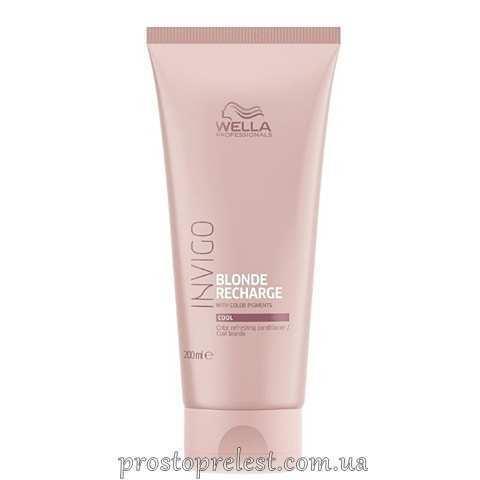 Wella Invigo Blonde Recharge Color Refreshing Conditioner For Cool Blonde - Відтіночний бальзам-догляд для холодних світлих відтінків