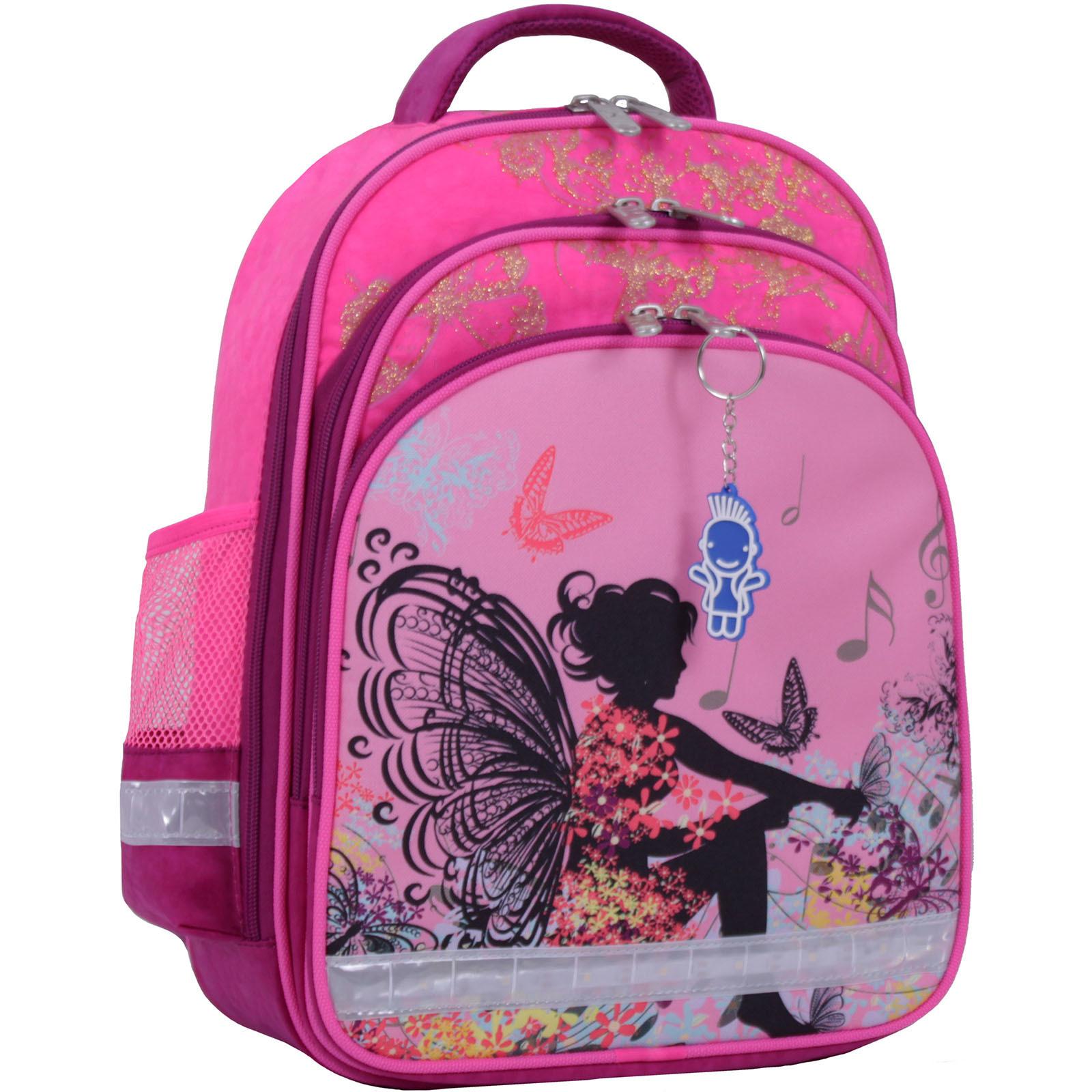 Рюкзак школьный Bagland Mouse 143 малиновый 389 (0051370) фото 1