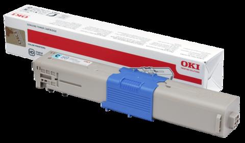 Тонер-картридж OKI C510, 530, MC561, С511, 531, MC562 - Cyan 5K 44469754