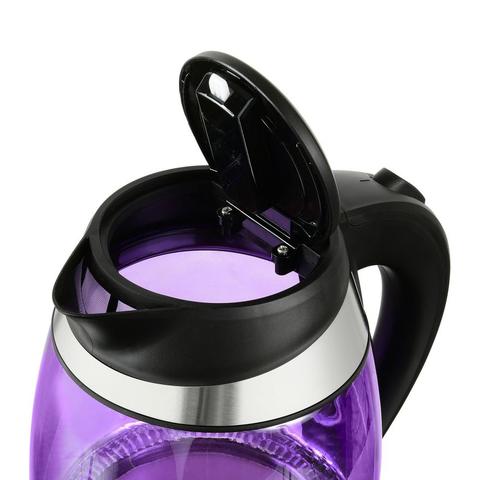 Чайник электрический Starwind (1,8 литра) 2200 Вт, LED подсветка, фиолетовый