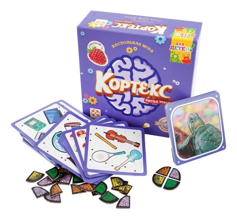 Настольная игра Кортекс для детей комплектация
