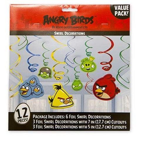 Спираль Angry Birds 46-60см 12шт/A