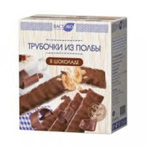 Вастэко Трубочки из полбы в шоколаде 150 гр