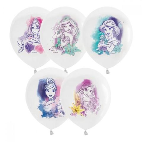 Воздушные шары Принцессы Акварель, 30 см