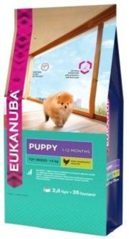 Eukanuba Puppy Toy Breed Сухой корм для щенков миниатюрных пород от 1 до 12 месяцев