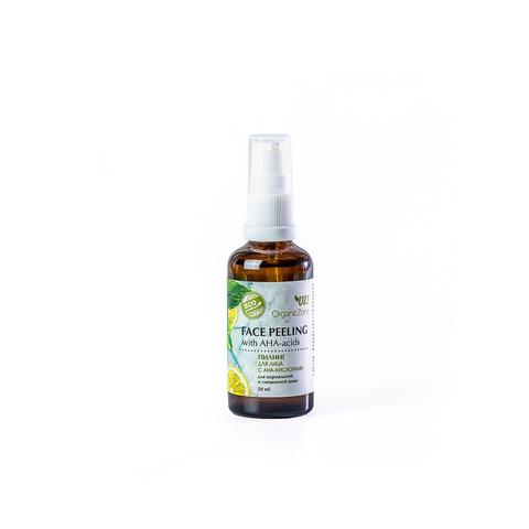 OZ! Пилинг для лица с АНА-кислотами для нормальной и смешанной кожи (50 мл)