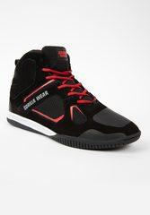 Женские кроссовки Troy High Tops (Red&Black)