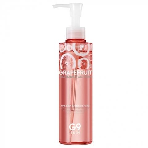 G9Skin Масло-пенка для умывания с экстрактом грейпфрута Grapefruit Vita Bubble Oil Foam, 210 мл