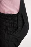 Утепленный комбинезон для беременных 04523 черный