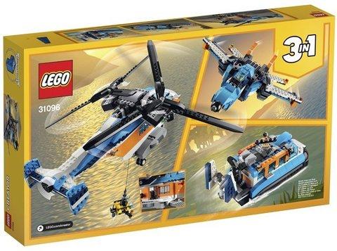 Lego konstruktor Twin-Rotor Helicopter