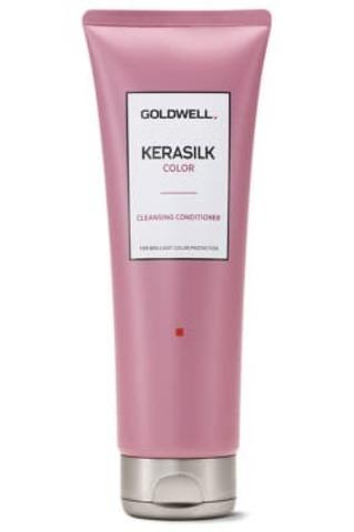 Очищающий кондиционер для окрашенных волос Goldwell Kerasilk