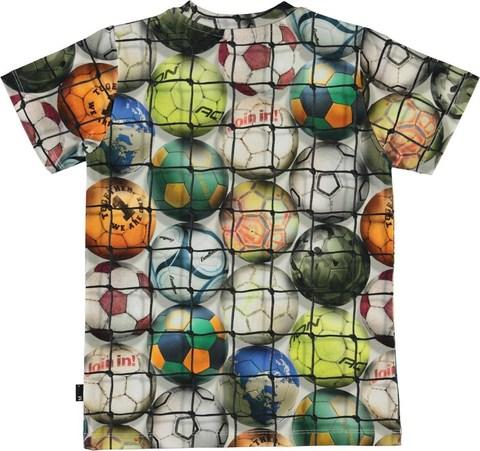 Molo Ralphie Footballs футболка для мальчика