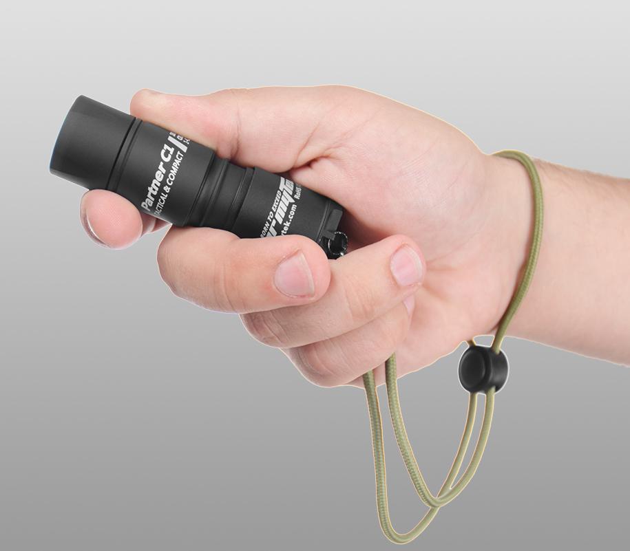 Тактический фонарь Armytek Partner C1 (тёплый свет) - фото 2