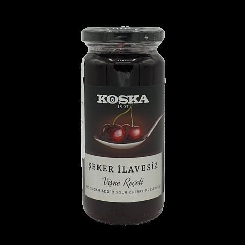 Варенье вишневое без сахара KOSKA, 290 гр