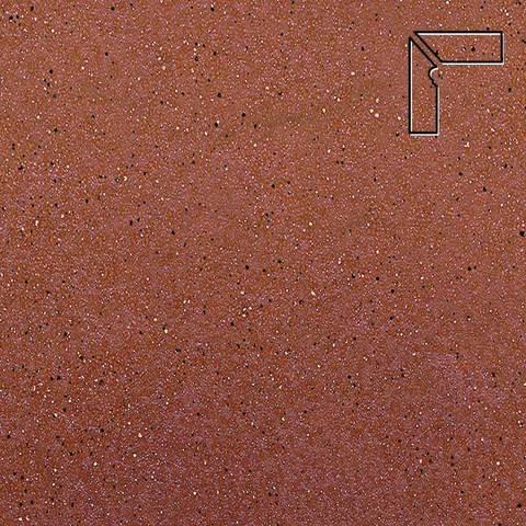 Ceramika Paradyz - Taurus Rosa, 300x81x11, артикул 5280 - Цоколь левый структурный 2-х элементный