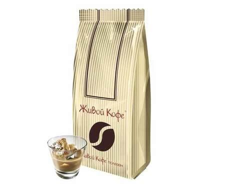 Кофе в зернах ароматизированный Живой Кофе Ирландский ликер, 1 кг