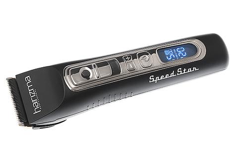 Машинка для стрижки Harizma SpeedStar, аккумуляторная, 4 насадки, черная