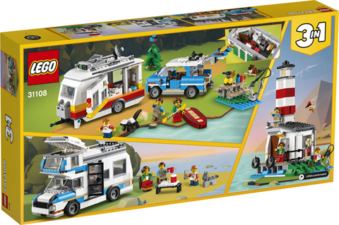 Lego konstruktor Caravan Family Holiday