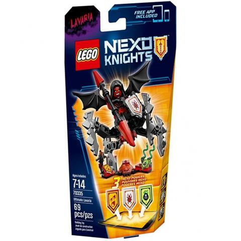LEGO Nexo Knights: Лавария – Абсолютная сила 70335 — Ultimate Lavaria — Лего Нексо Рыцари